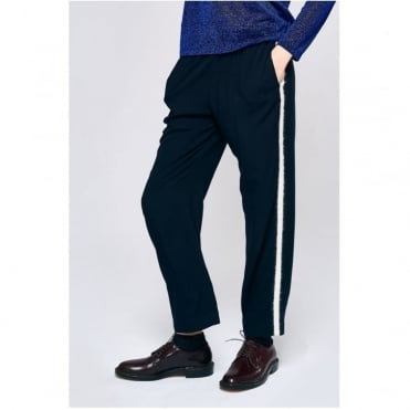 Vlad Trouser With Hairy Stripe