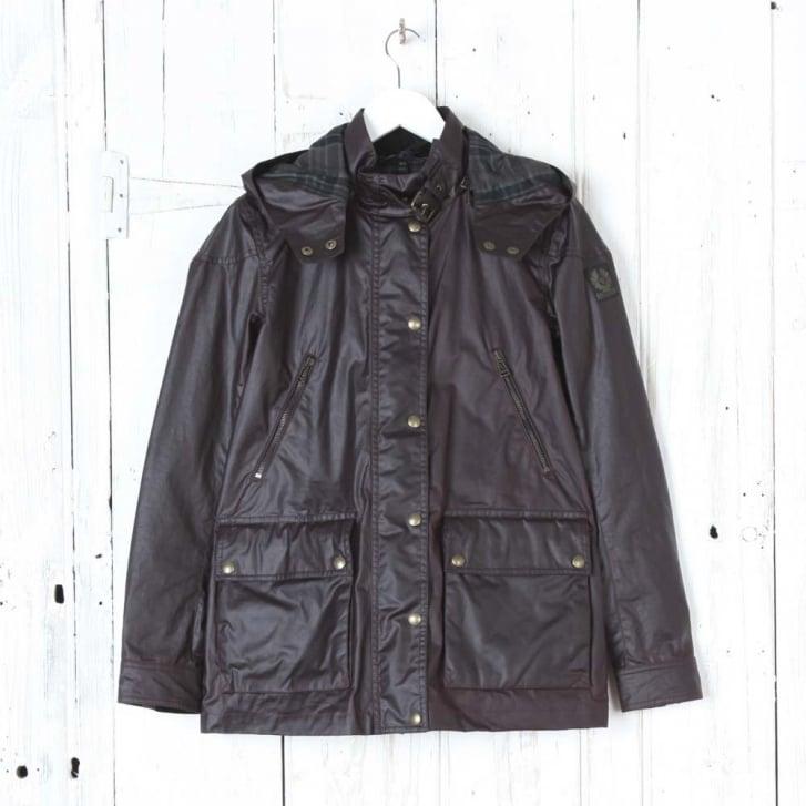 BELSTAFF New Tourmaster Hooded Wax Jacket