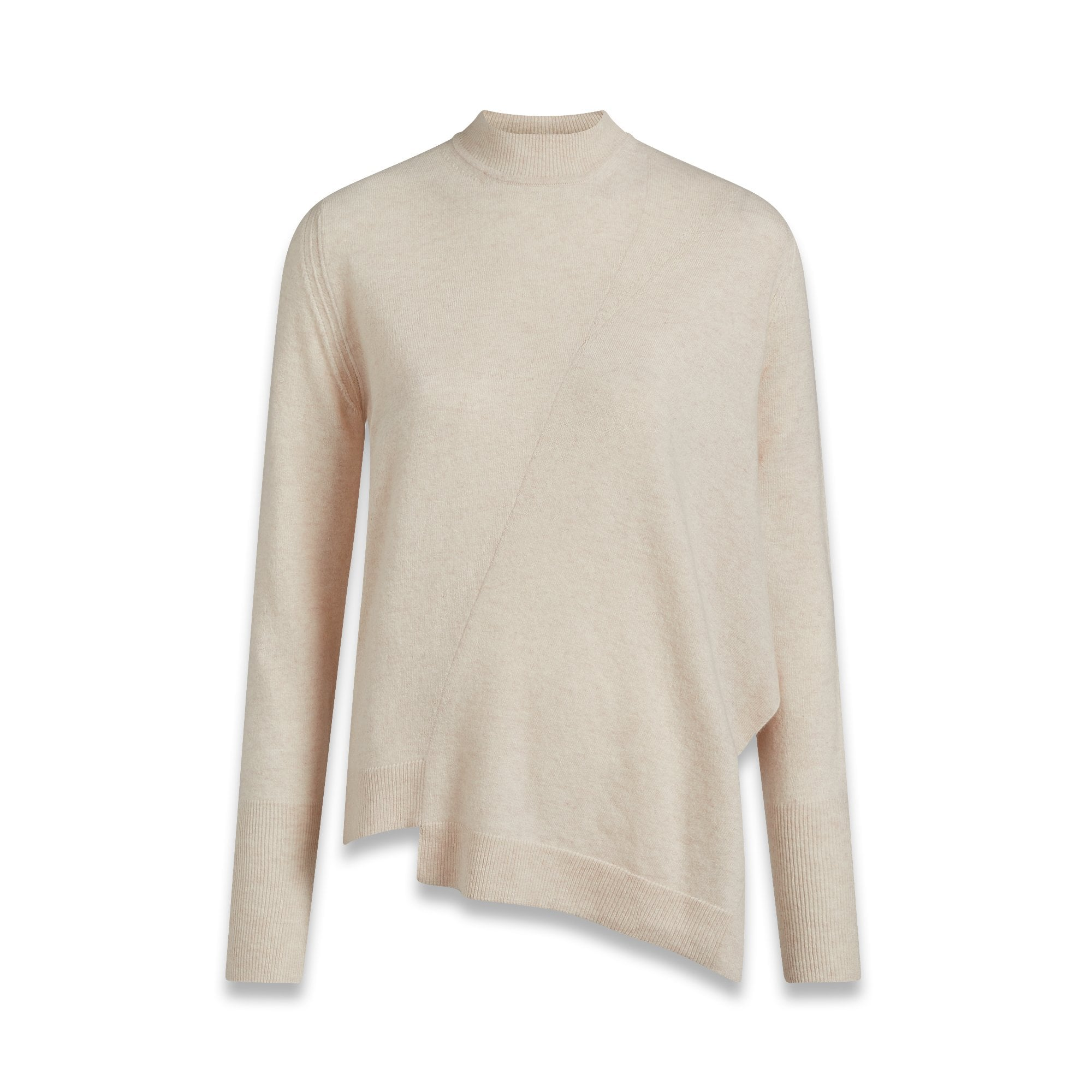 57360d76e794 Swanston Cashmere Knit in Champagne Pink