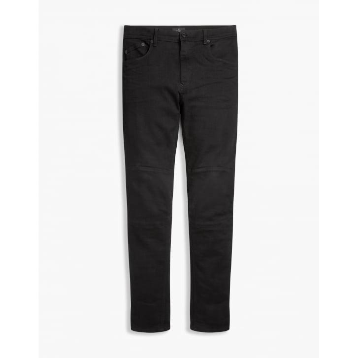 BELSTAFF Tattenhall Skinny Fit Trousers in Rinse Black