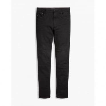Tattenhall Skinny Fit Trousers in Rinse Black