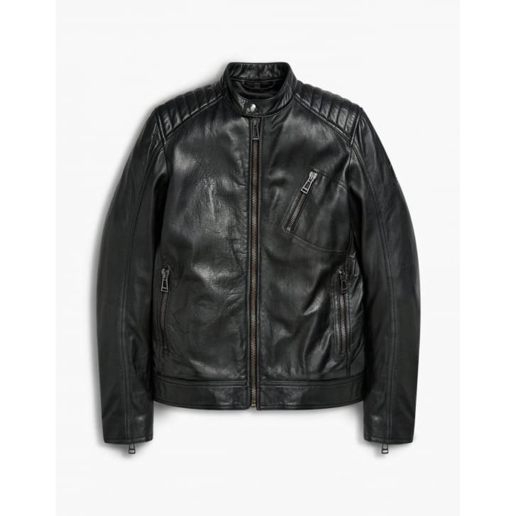 BELSTAFF V Racer Blouson Jacket in Black