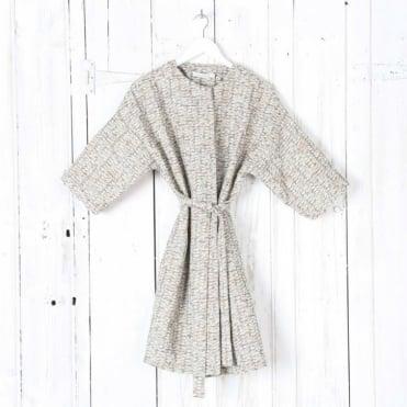 Belted Matisse Woven Coat