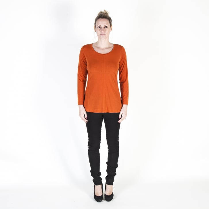 BITTE KAI RAND Cotton Long Sleeve Underpin Blouse