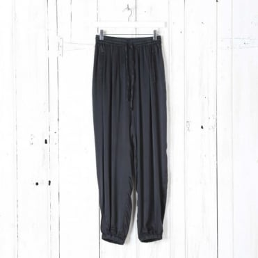 Sandwashed Silk Trousers