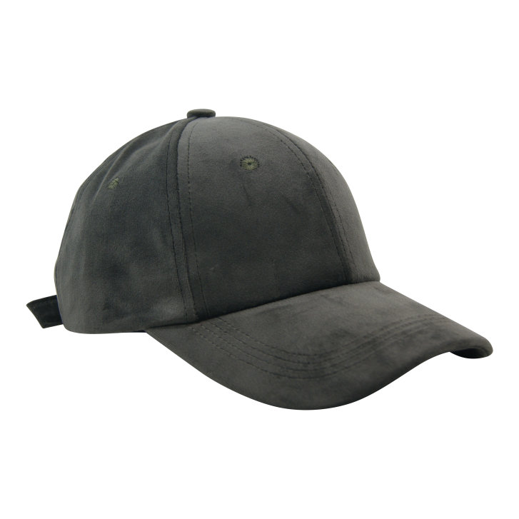 BLACK COLOUR Grey Velvet Cap