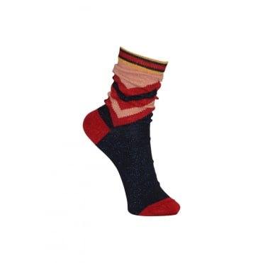 Wonder Woman Socks in Red
