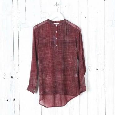 Sheer Brushing Cotton Shirt
