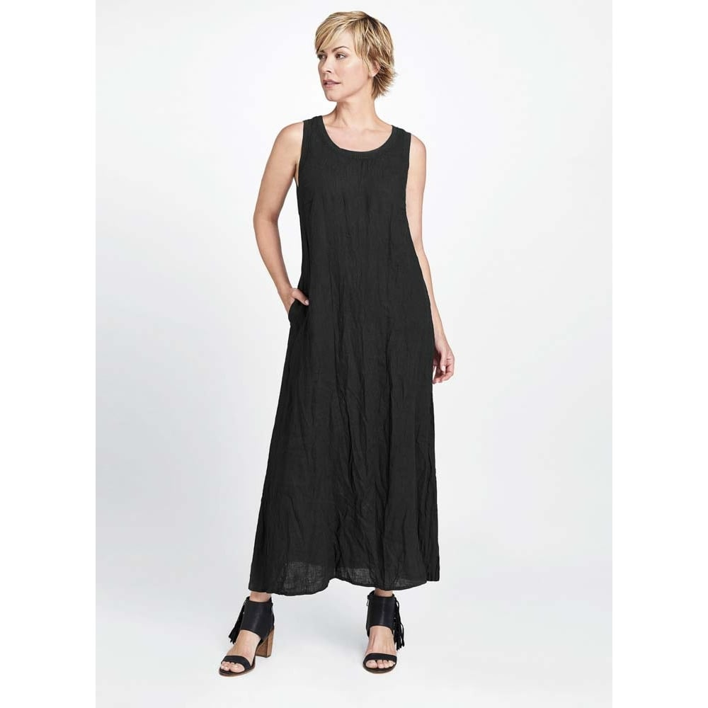 Buy Flax Borough Linen Maxi Dress Collen Amp Clare