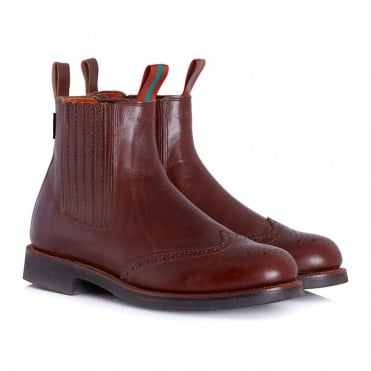 Bousfield Boot - Brown Chelsea Boot