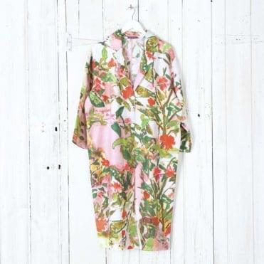 Camellia Duster Coat