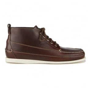 Camp Moc Ranger Pull Up Leather Boots