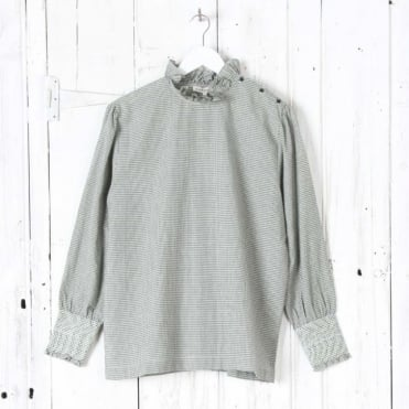 Frill Collar Top