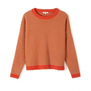 Pattern Crew Sweater
