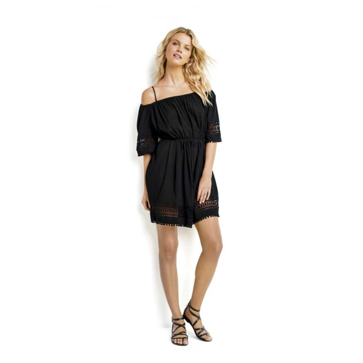 SEAFOLLY Casablanca Lace Hem Smock Dress