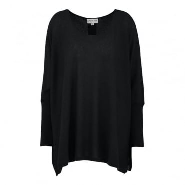 Cashmere Sequin Back Jumper