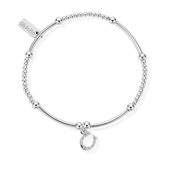 CHLOBO Cute Mini Horseshoe Bracelet