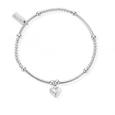 Cute Mini Puffed Heart Bracelet