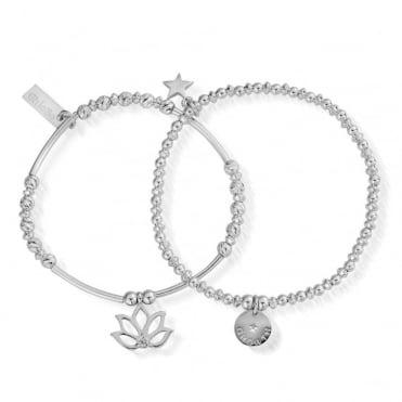 Lotus Set of 2 Bracelets