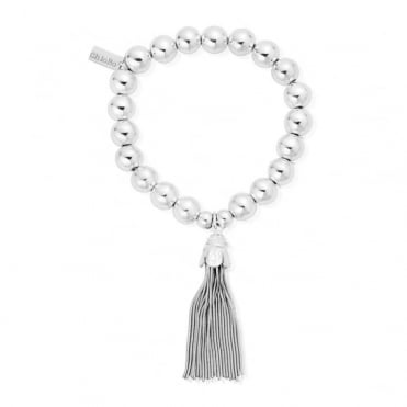 Medium Ball Tassel Bracelet