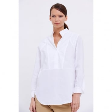 Capri White Tunic Shirt