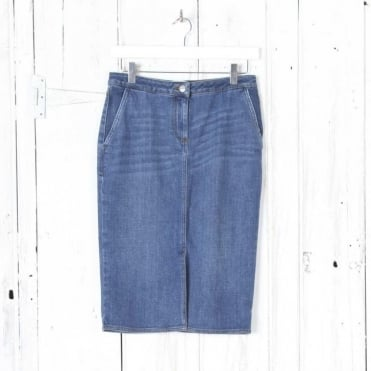 Jared Denim Skirt with Pockets