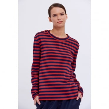 Thelma Stripe Long Sleeve Top