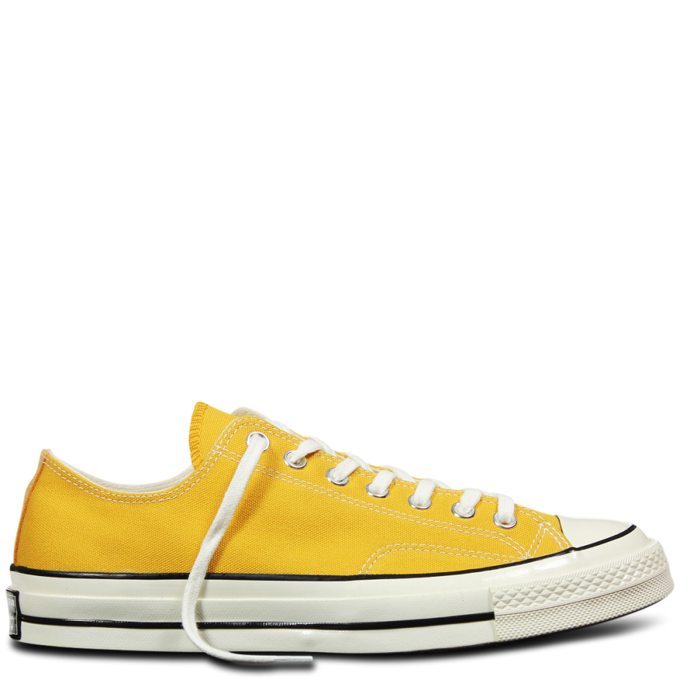 Chuck Taylor All Star 70 Low Trainers In Yellow - Yellow Converse