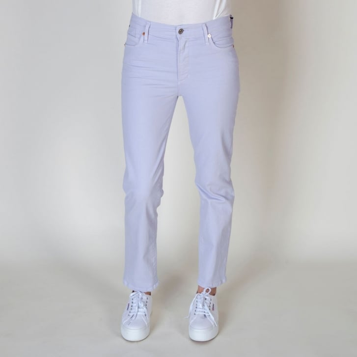 CITIZENS OF HUMANITY Cara Lilac High Rise Cigarette Pant in Memphis Purple