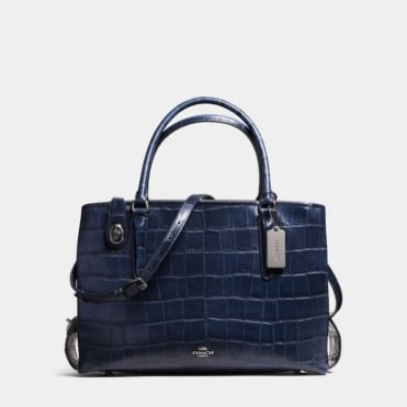 Brooklyn 34 Carryall in Dark Navy