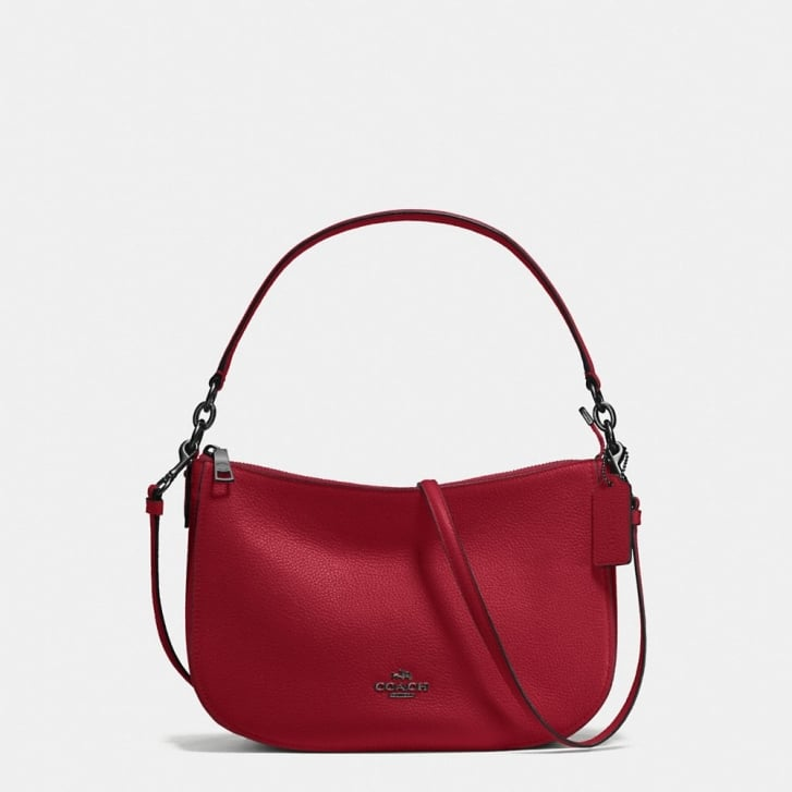 COACH Chelsea Crossbody in Dark Cherry