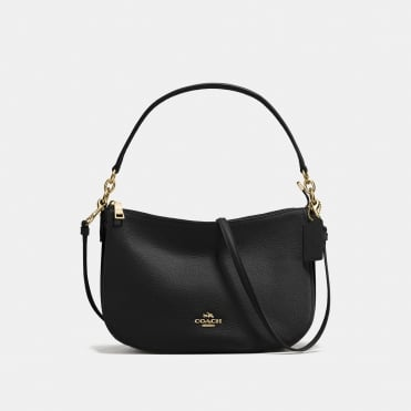 Chelsea Crossbody in Light Black