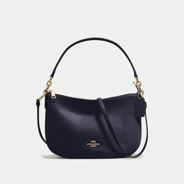 Chelsea Crossbody in Light Navy