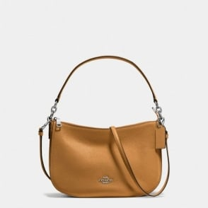 Chelsea Crossbody in Light Saddle