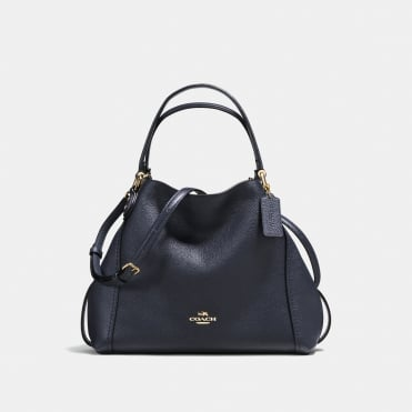 Edie 28 Shoulder Bag in Light Navy