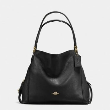 Edie 31 Shoulder Bag in Black