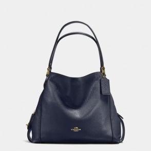 Edie 31 Shoulder Bag in Light Navy