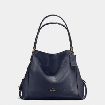 Edie 31 Shoulder Bag in Light Navy