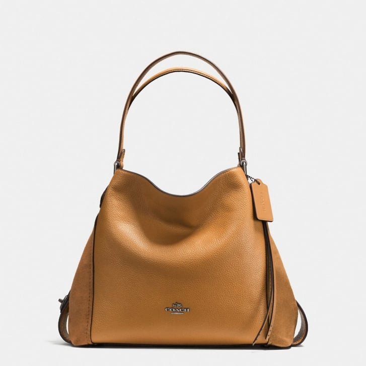 COACH Edie 31 Shoulder Bag in Light Saddle