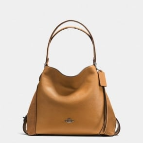Edie 31 Shoulder Bag in Light Saddle