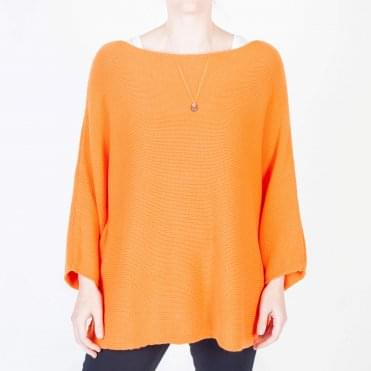 Ivy Round Neck Knit in Orange