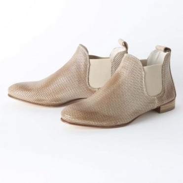 Perforated Signature Chelsea Boot