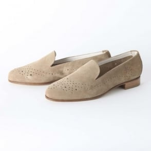 Perforated Smoking Slipper