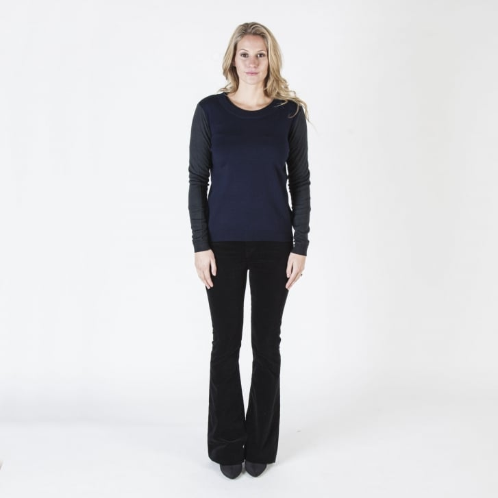 COLLEN & CLARE Pin Tail Merino Jumper