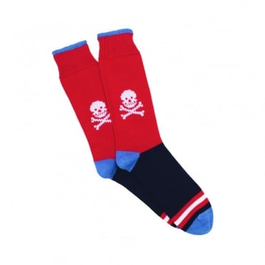 100% Cotton Skull Socks