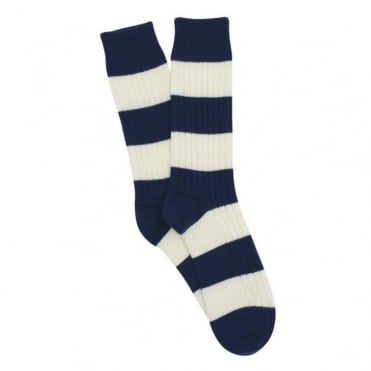 Ribbed Stripe Sock
