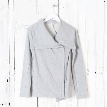 Cotton Zip - Up Cardigan Jacket