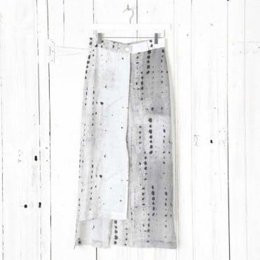 Midi Skirt with Shift Overlay