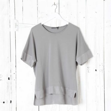 Oversized T Shirt with Panelling