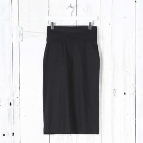 Woven Fold Over Skirt